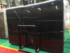 chinese black marquina marble slab for sale