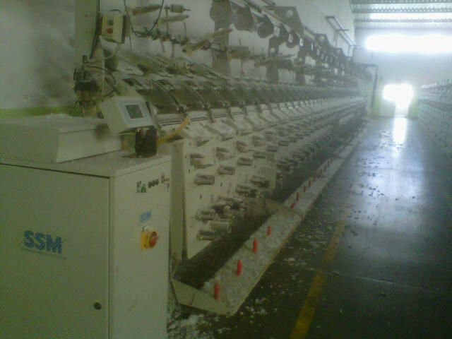 SSM ELASTANE WINDING MACHINE
