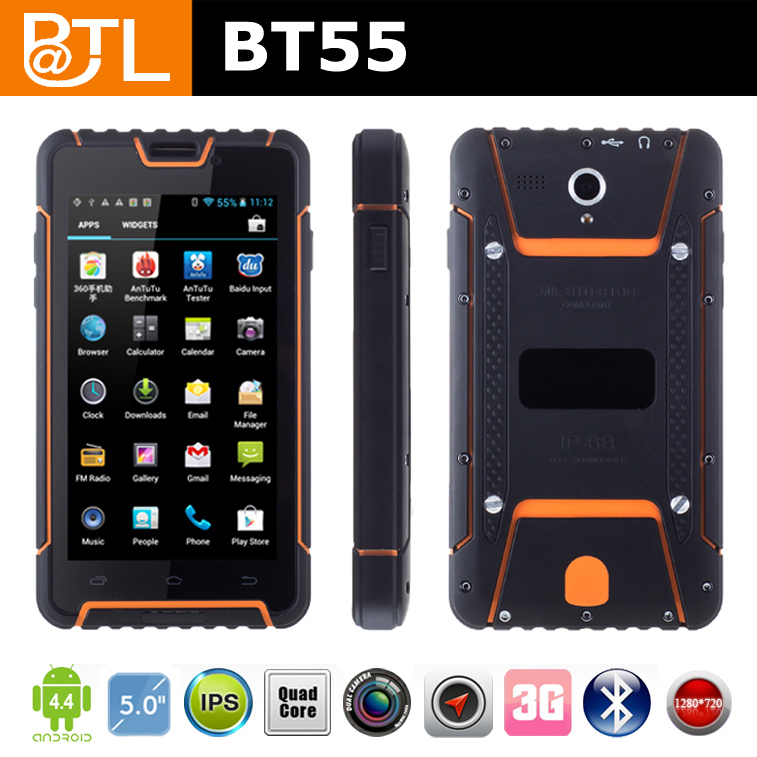 BATL BT55 rugged military mobile phone, waterproof russian menu phone, rugged military mobile phone