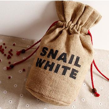 Custom designed hemp drawstring bags wholesale, hem gift drawstring bags