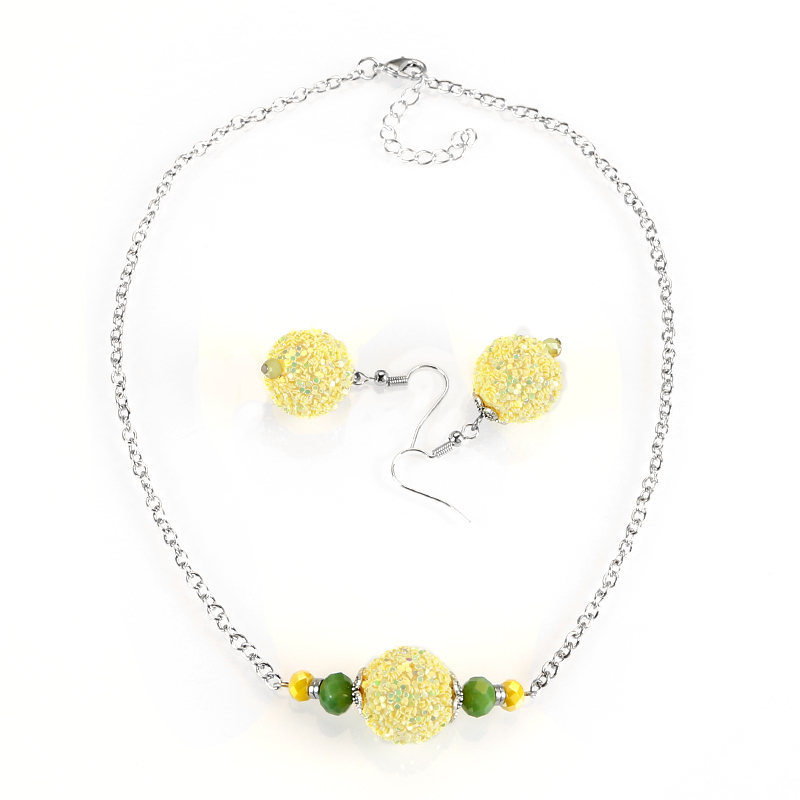 2018 New Hot Necklace Earrings Set, Jewelry Set For Women