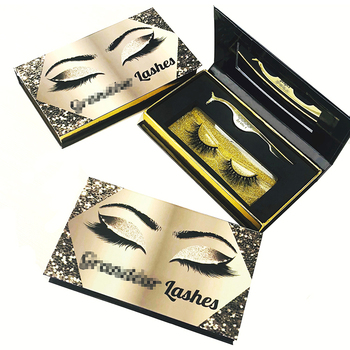 ca4f11da6f9 Luxury Eyelash Packaging Box Private Label Eyelash case With Own Logo