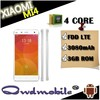 Xiaomi mi4 mobile phone with Qualcomm Snapdragon801 2.5Ghz 3GB RAM 16GB ROM 13.0MP 8.0MP Camera