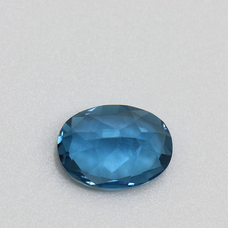 wholesale factory price oval cut natural london blue topaz price per carat