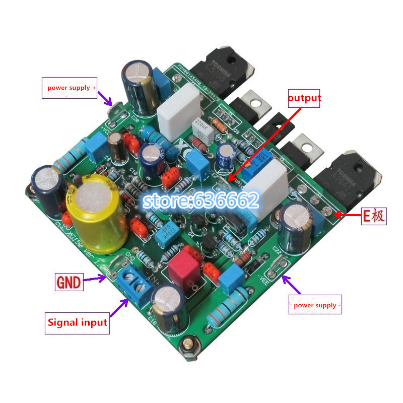 Cheap diy amplifier case find diy amplifier case deals on line at get quotations mini mono power amplifier xg150 8070mm powerful 150w discrete power amplifier board xg150 better solutioingenieria Choice Image