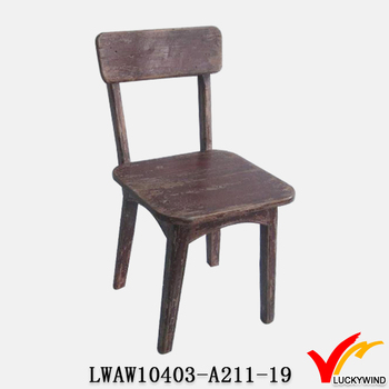 Superbe Reclaimer Old Small Wooden Wood Children Chair
