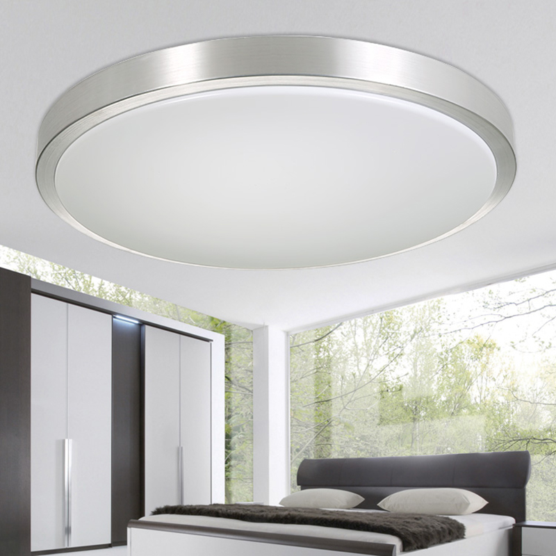 Round Modern Living Lamps Lighting Fixtures Luces Del