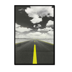 best price A2 black and white fine art prints road design