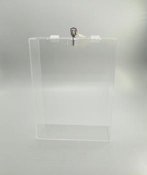 Clear Acrylic Ballots Box,Acrylic Letter Storage Box With Key And Lock -  Buy Acrylic Ballots Box,Acrylic Box With Lock And Key,Acrylic Letter  Storage