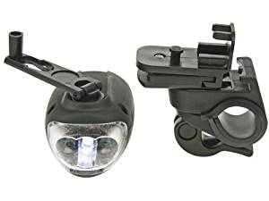 Velleman ZL388/7 POWERFUL BICYCLE DYNAMO LED LIGHT WITH HOLDER - 3 LEDs