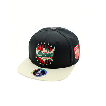 5f5c1486f26 2018 Daijun Hot Selling High quality custom cotton 5 panels Embroidered Snapback  Cap Hat