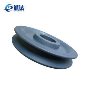 No noise Construction machinery nylon pulley wheels