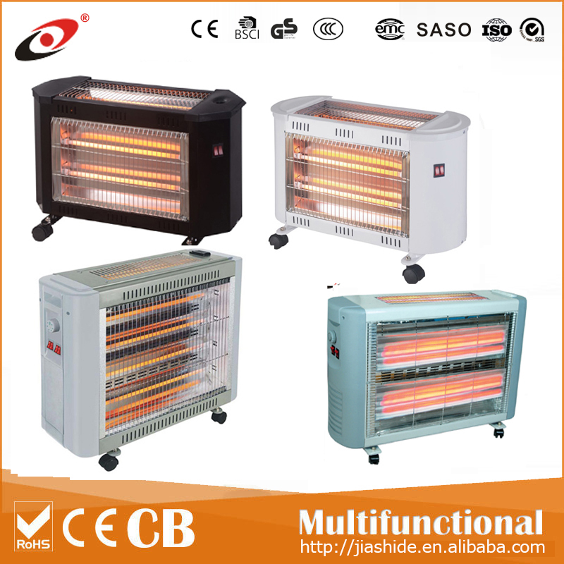 hot sales with CE/GS/ROHS certificate Quartz heater infrared heater 2800W with turbo and humidifier