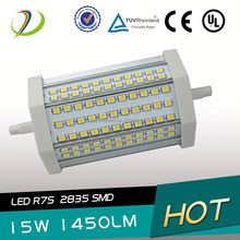 J118 R7s LED Bulb SMD2835 270degree double ended high power 15w 30w led r7s corn light