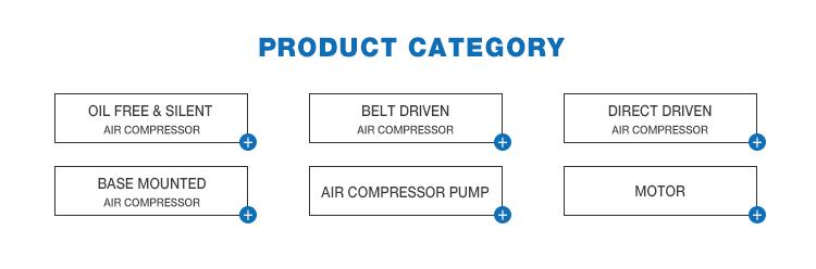 China goud leverancier 100l 3hp beste prijs luchtcompressor machine