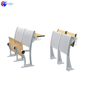 University school furniture metal student chairs and tables