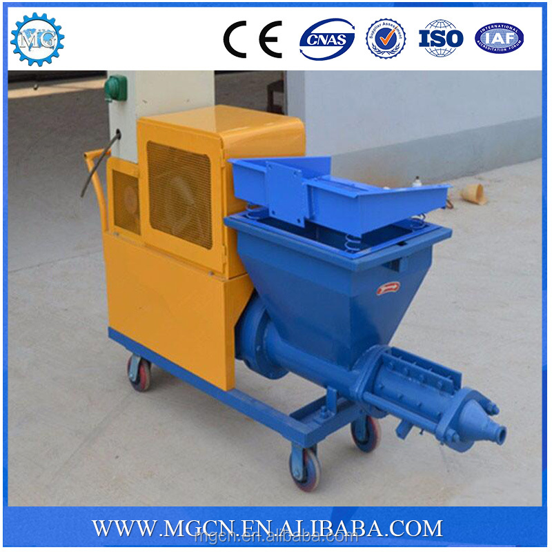 Alibaba online shopping sales Ready Mix Cement wet mortar spray machine