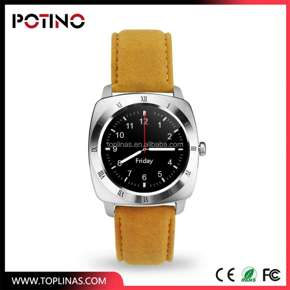 POTINO T3 smart sim card round screen watch mobile phone 2017