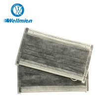 4ply design earloop activated carbon filter mask with ISO certificate