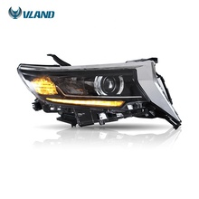 Für VLAND Großhandel GX460 LED Sequential <span class=keywords><strong>Scheinwerfer</strong></span> auto accesorios land cruiser <span class=keywords><strong>prado</strong></span> 2017 2018 2019 <span class=keywords><strong>Scheinwerfer</strong></span>