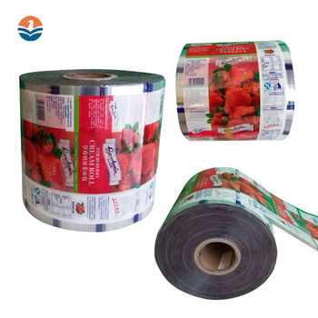 Cream Bread Laminated Packaging Material Bag Printed Film Roll
