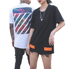 mens womens Fashion print casual t-shirt o neck custom Tees summer streetwear Tops Breathable t shirt manufacturer