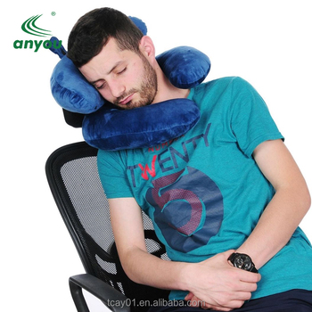 Factory direct orthopedic memory foam neck pillow