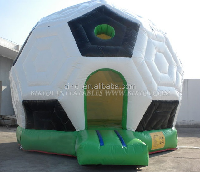 Football Inflatable Jumping Castle,inflatable playground jumping castle soccer arena B1029