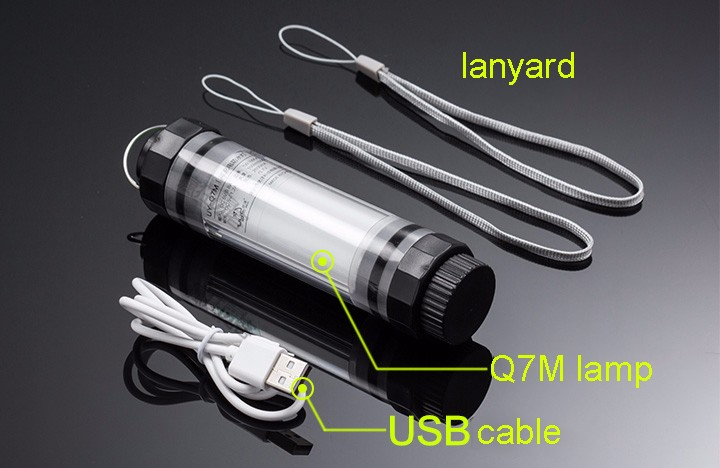 100LM LED Camping Lamp, 5 Mode Brightness Dimmable Outdoor Camping Tent Emergency Night Lamp