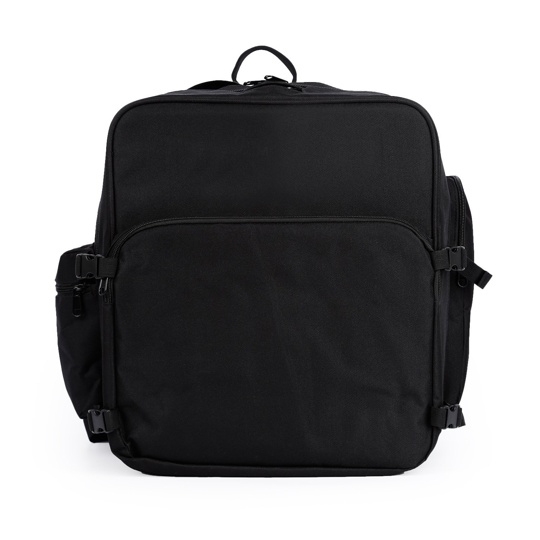 Rantow Durable Nylon Shoulder Carrying Backpack Case Bag for DJI Phantom 4 Quadcopter, Waterproof Protective Bag for DJI Phantom 4 Professional/Advanced Drone(Black)