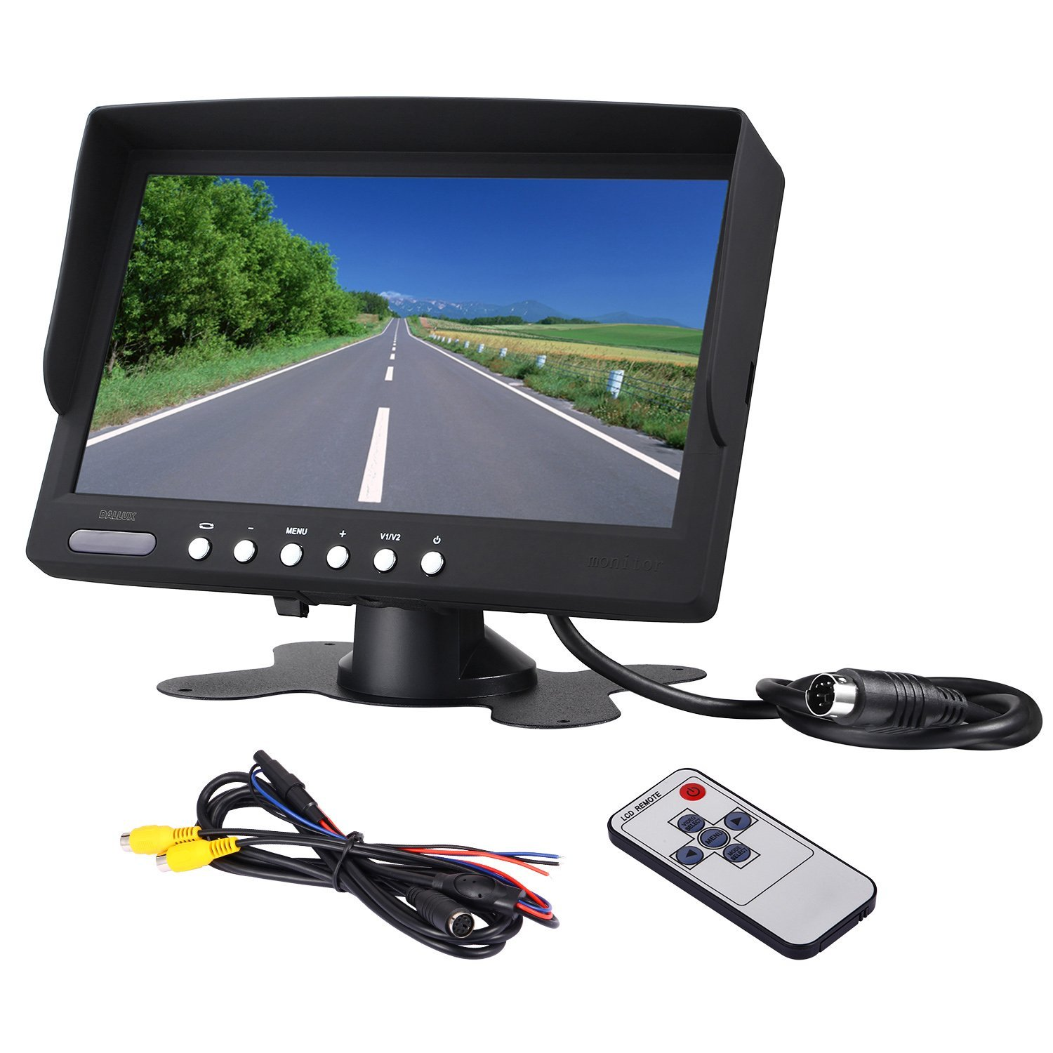 Get Quotations Bus Truck Rearview Camera LCD Monitor Heavy Duty Vehicle Screen LED Backlight High Resolution Backup