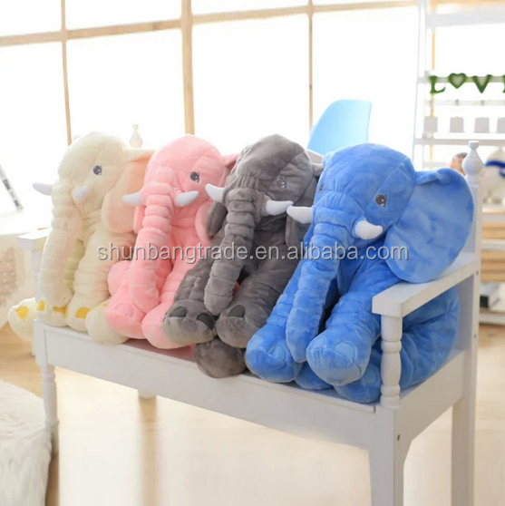 online shopping plush and stuffed elephant toys pillow with big ears