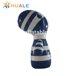 High quality PVC material giant inflatable zebra for promotion