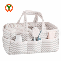 Strong Washable Polyester Baby Diaper Caddy