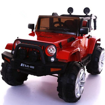 Jeep Children S Electric Car Baby Can Take Double Oversized Four