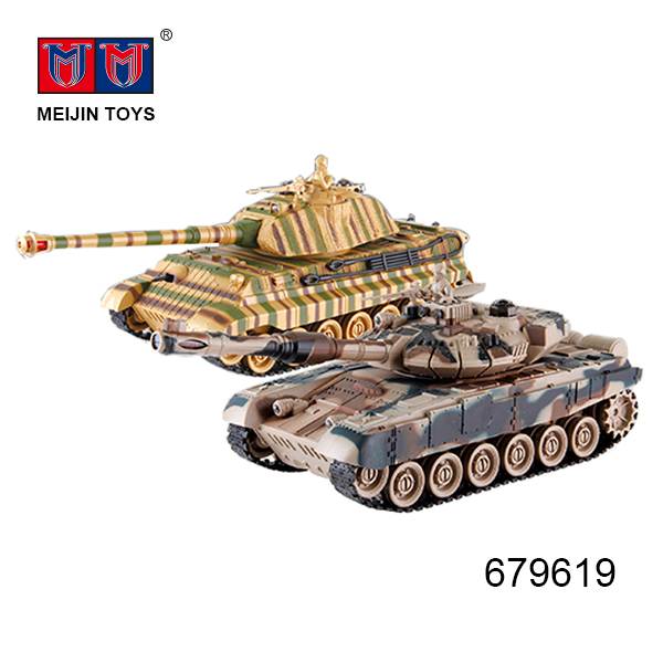 2.4 G light music remote control camouflage tanks