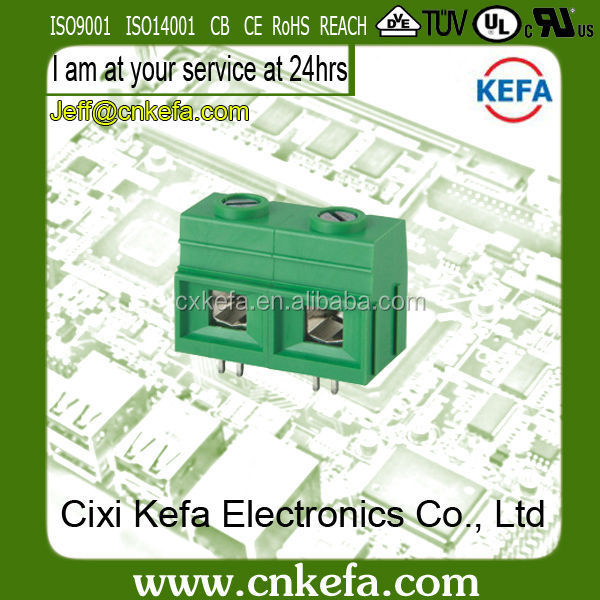 KF139-19.0 600 volt terminal block for pcb with certificate of UL CE VDE