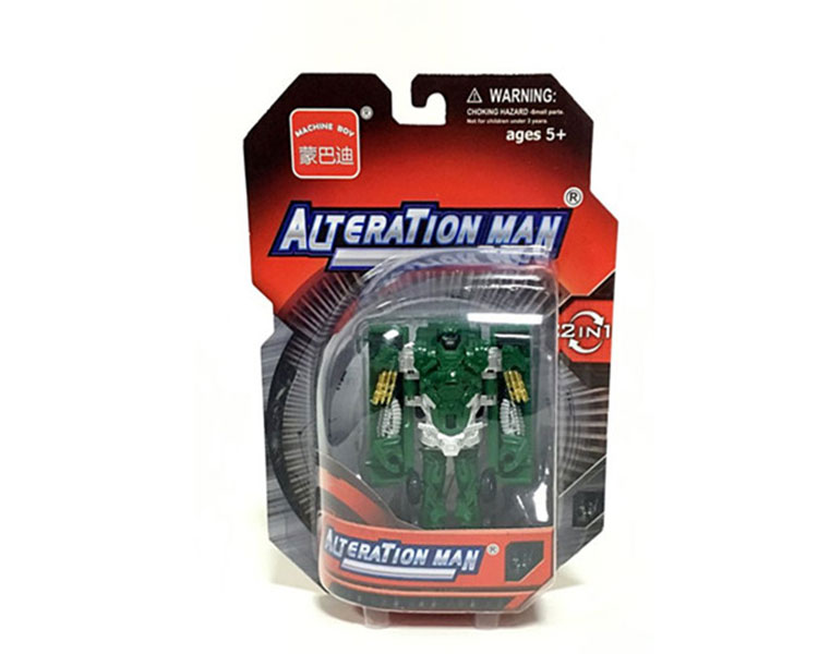 2 in 1 deformer car alteration man deformation toys for kids