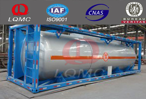 20-50m3 container frame tank mobile filling fuel station made by luqiang