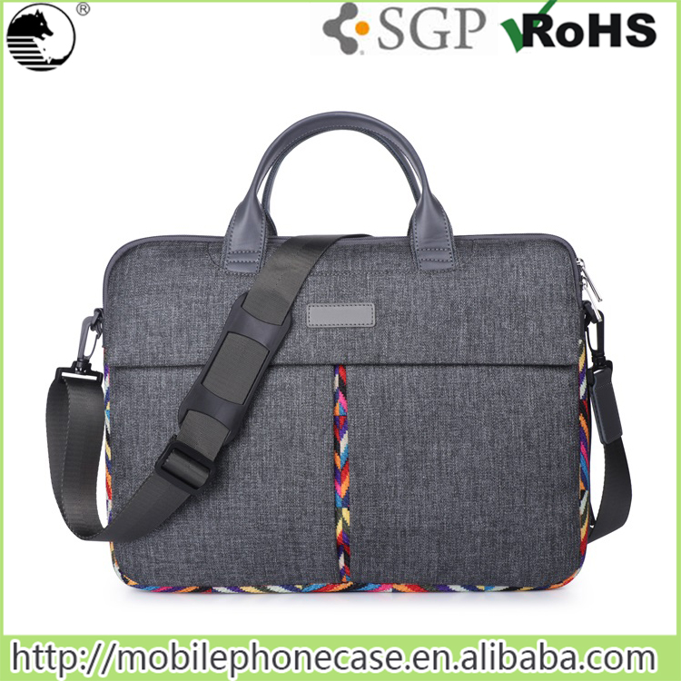 Laptop Messenger Carrying Shoulder Bag for Macbook pro