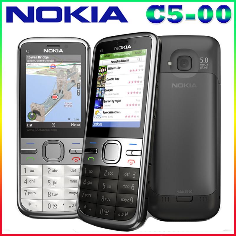 nokia c5-00 wifi free