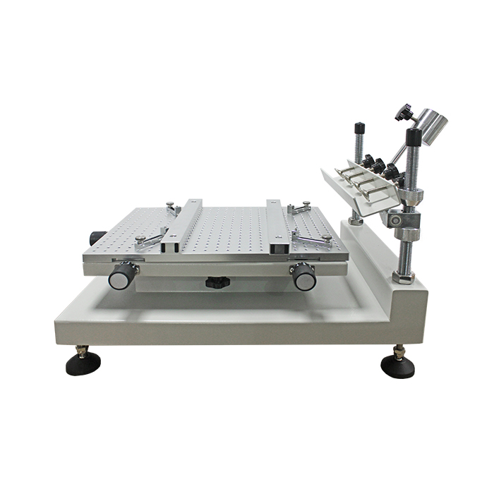 Factory supply hoge precisie LED assemblagelijn SMT stencil printer Soldeerpasta PCB zeefdruk machine