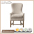 Cottage Dining chairs with flip seat upholstered back dining chairs antique furniture manufacturer RH-2165