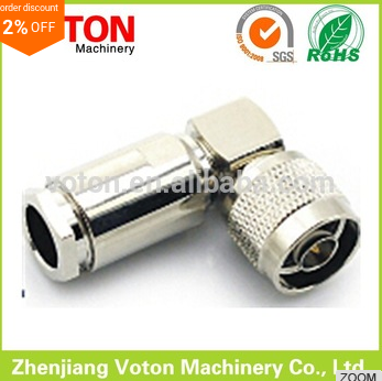 made in factory UHF Clamp Plug Right Angle LMR400 e clamp wire connector