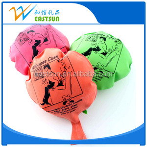 Funny Promotional joke custom rubber Whoopee Cushion