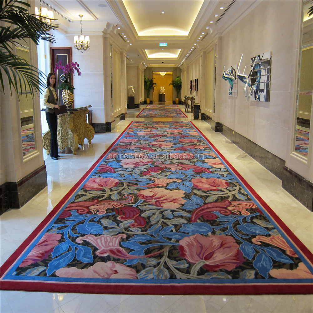 Best quality in machine made carpet Axminster Hotel corridor carpet
