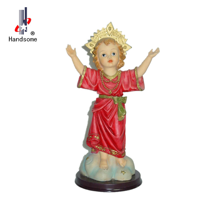 RELIGIOUS DECOR Mother Mary and Baby Jesus Statue Christian Sculpture Figure