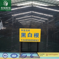 factory price for wholesale chinese nero marquina black and white marble tile and step floor tile