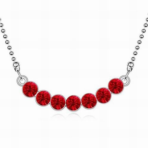 <strong>Accessories</strong> for Women Neck Wholesale Round Crystal Necklace Minimalist Jewelry