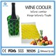 China factory supplier reusable wine holder Cooler bag beer bottle sleeve wraps/Wine bag in alibaba